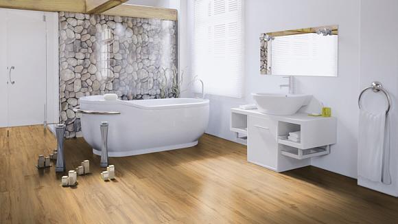 Purline Eco ist der erste ökologische Designbelag, der derzeit auf dem Markt ist (www.wineo.de)
