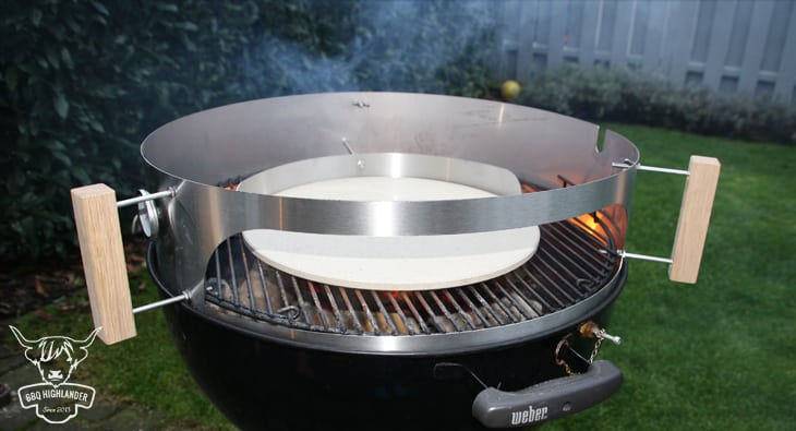 Weber Elektrogrill Pizza Backen : Pizza vom grill mit dem moesta smokin`pizzaring bbq highlander