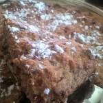 Strawberry Mint Oat Bran Bake