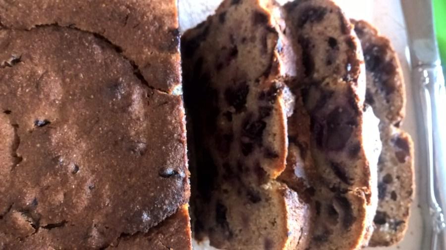Blueberry Masa Bread