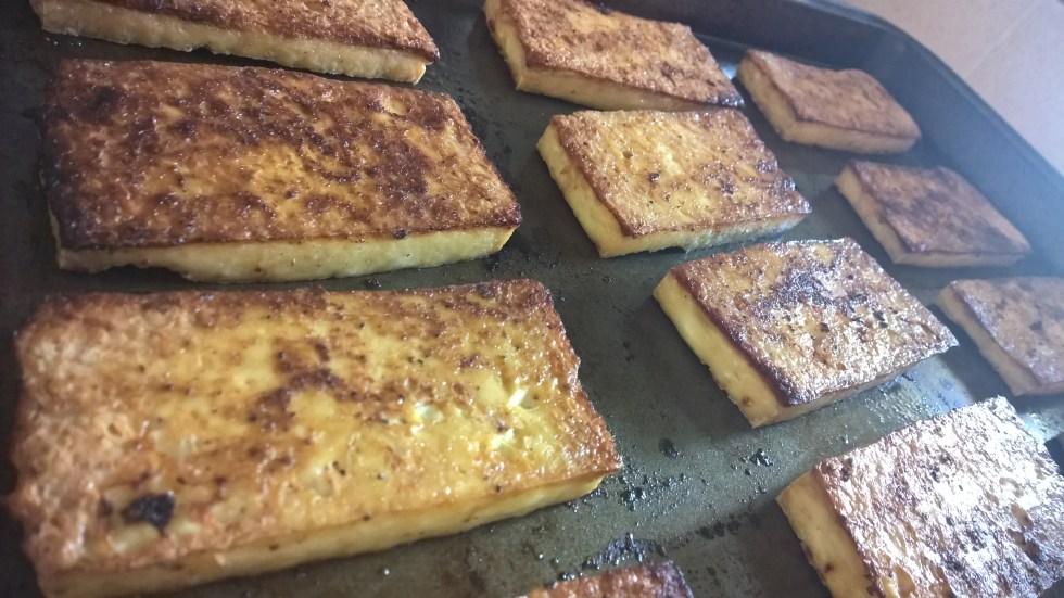 Easy cajun tofu