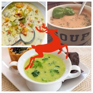 Three Creamy Tofu Based Soups