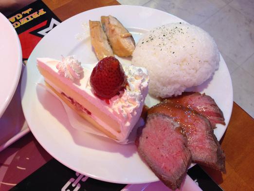 プリンセスカフェP5コラボに行ってきた感想|え、魚ケーキ!?