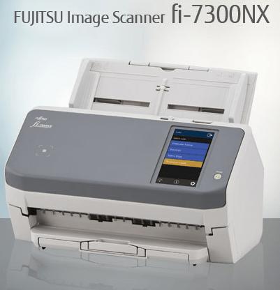 Fujitsu fi-7300NX document scanner by P3iD Technologies