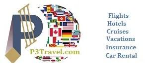 P3 Travel |   Logo P3 Travel website banner 2