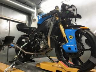 Moto3 Racing Motorcycle British Super bikes P3Tuning Ltd 2016