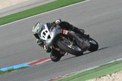 Jonathan Owens Portimao Triumph Daytona Smallboy trackbikes