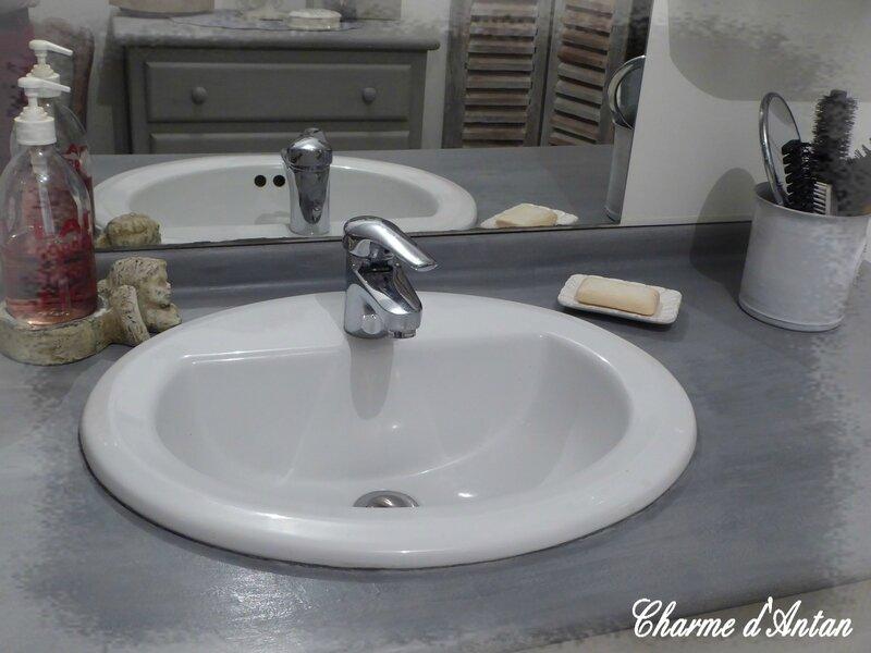 relooking de la salle de bain charme