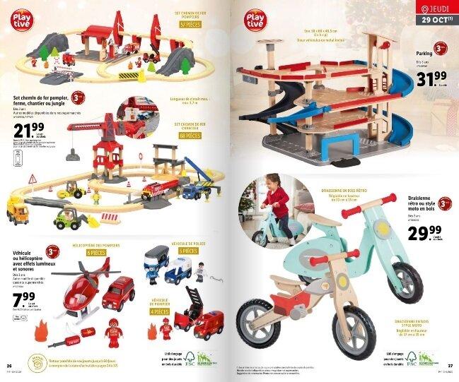 jouets en bois playtive de lidl