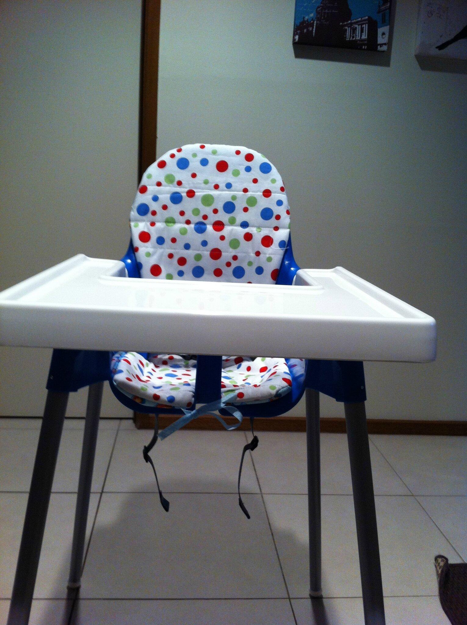 Le Coussin Réversible Pour Chaise Haute Ikea My New Little