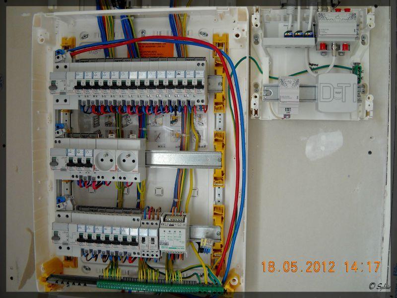 branchement tableau electrique maison