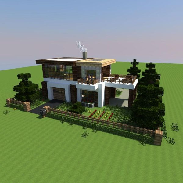 Maison Minecraft Design   comment faire une maison dans la jungle         Image de maison minecraft minecraft for Maison minecraft design