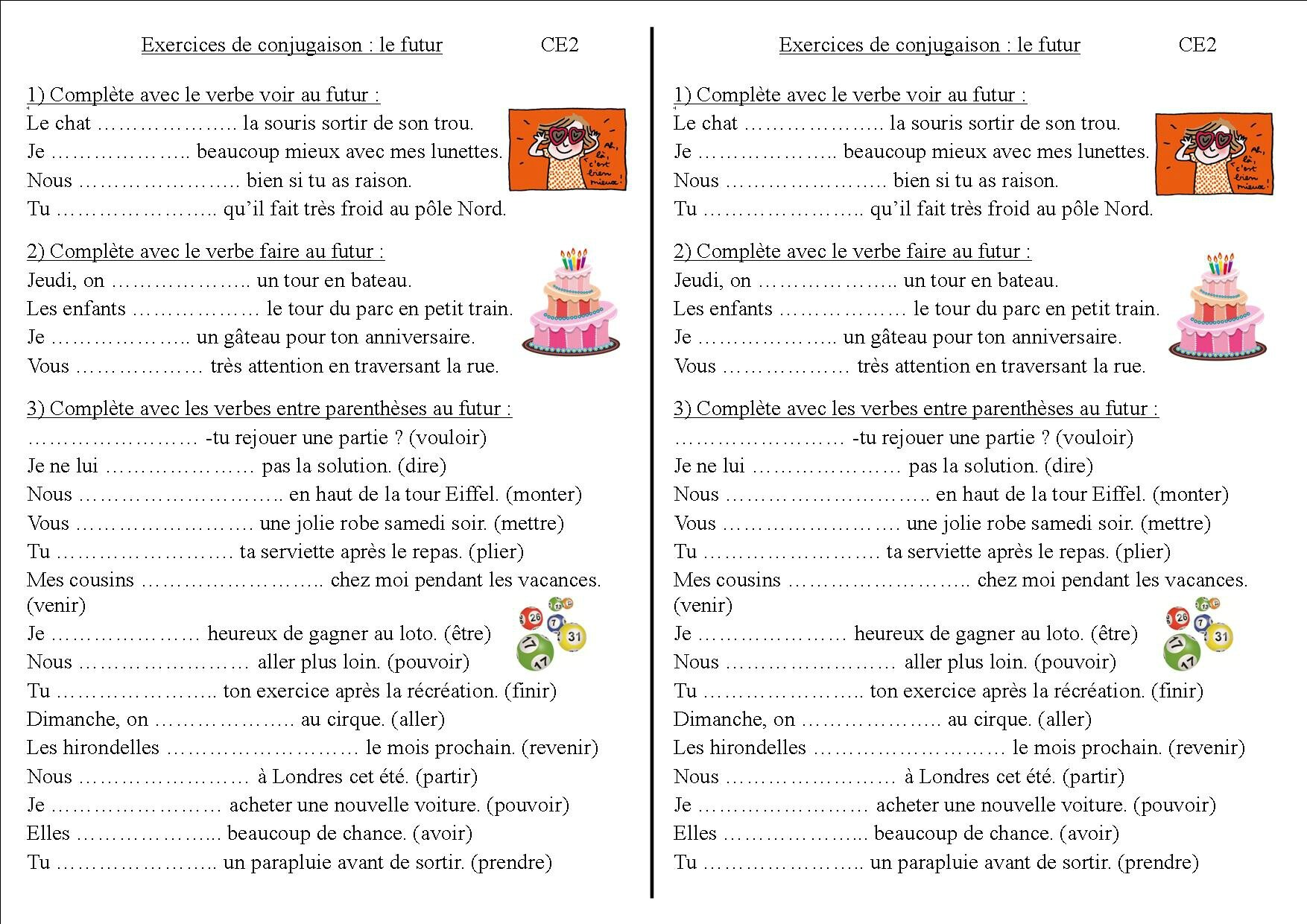 Le Verbe Faire Worksheet Printable Worksheets And Activities For Teachers Parents Tutors And Homeschool Families