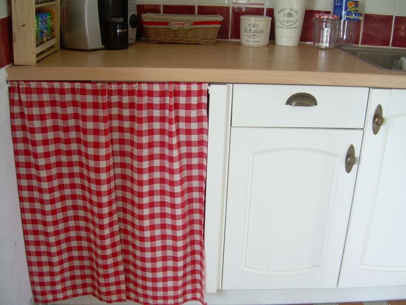 rideaux pour cuisine campagnarde les