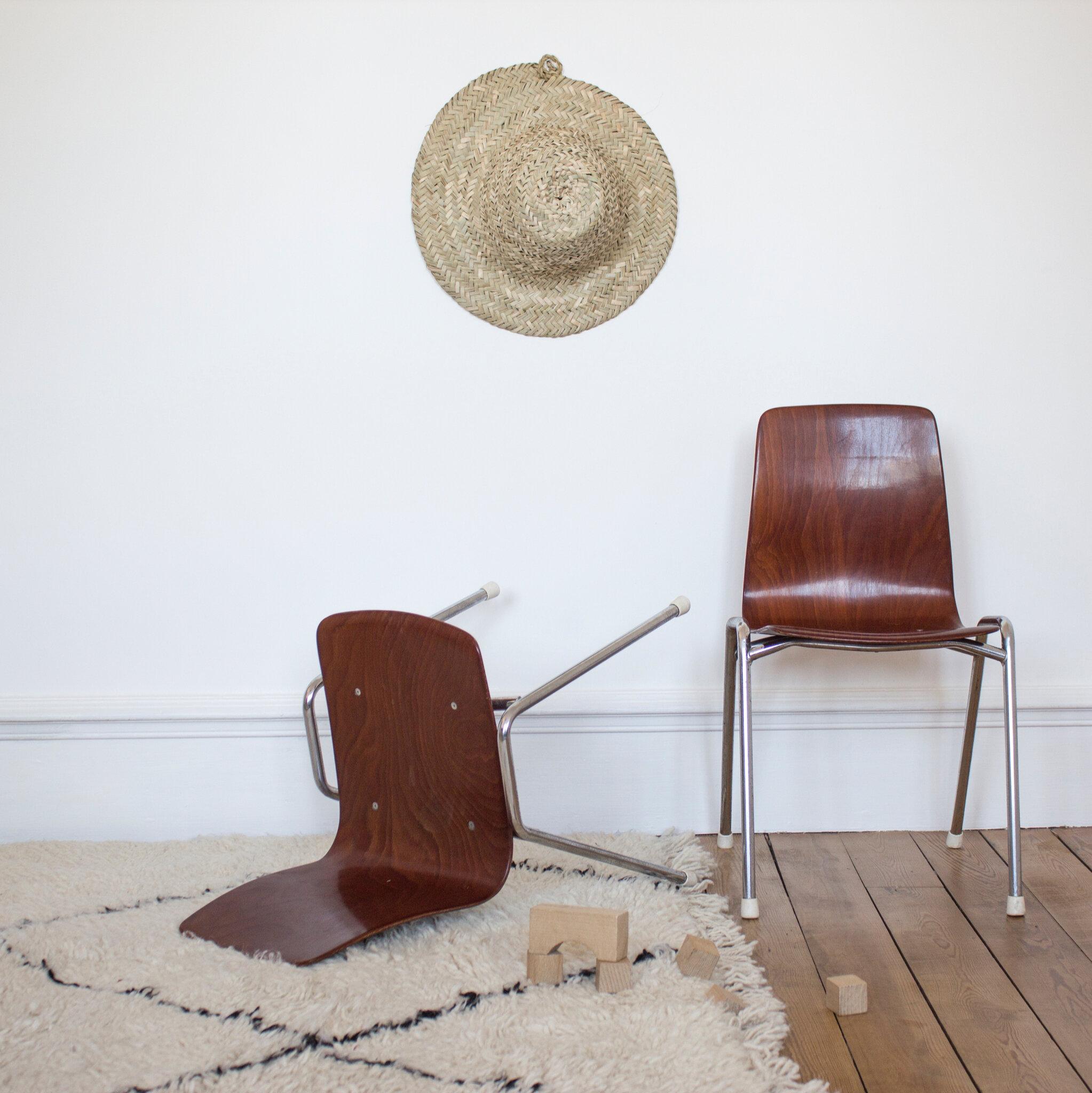 chaise enfant vintage pagholz trendy