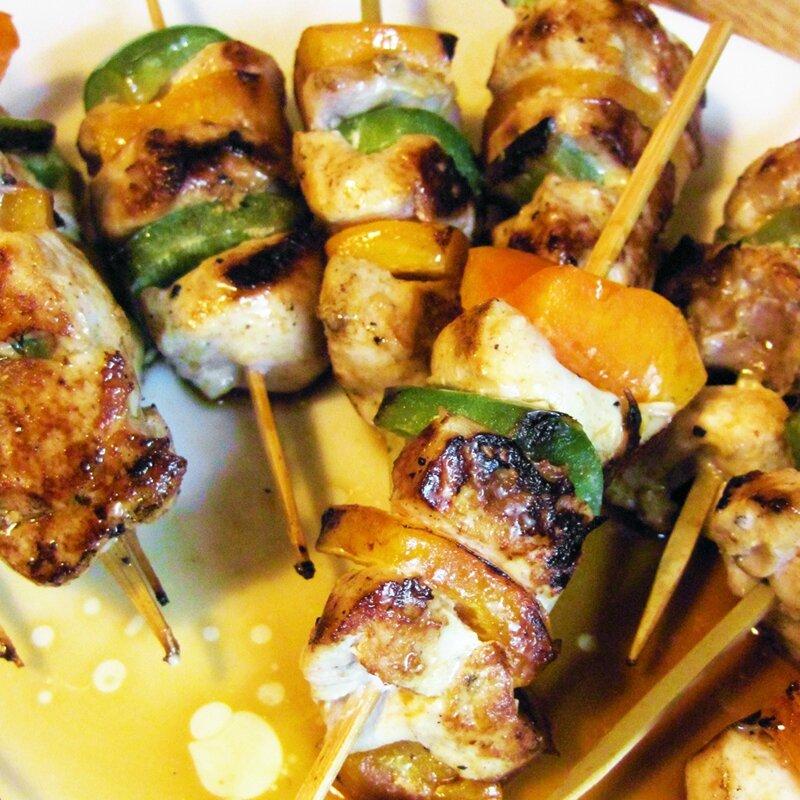 brochettes de poulet vietnamiennes
