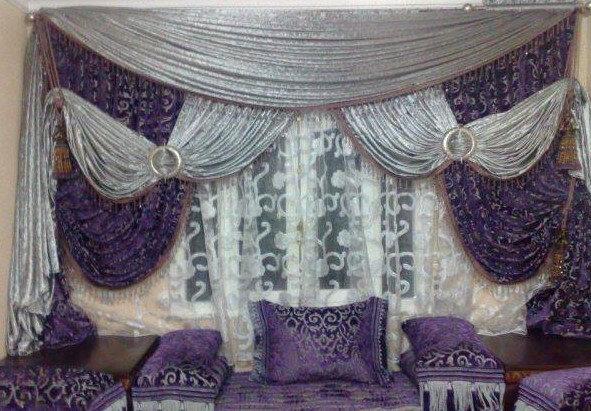 rideaux marocains pour decoration salon