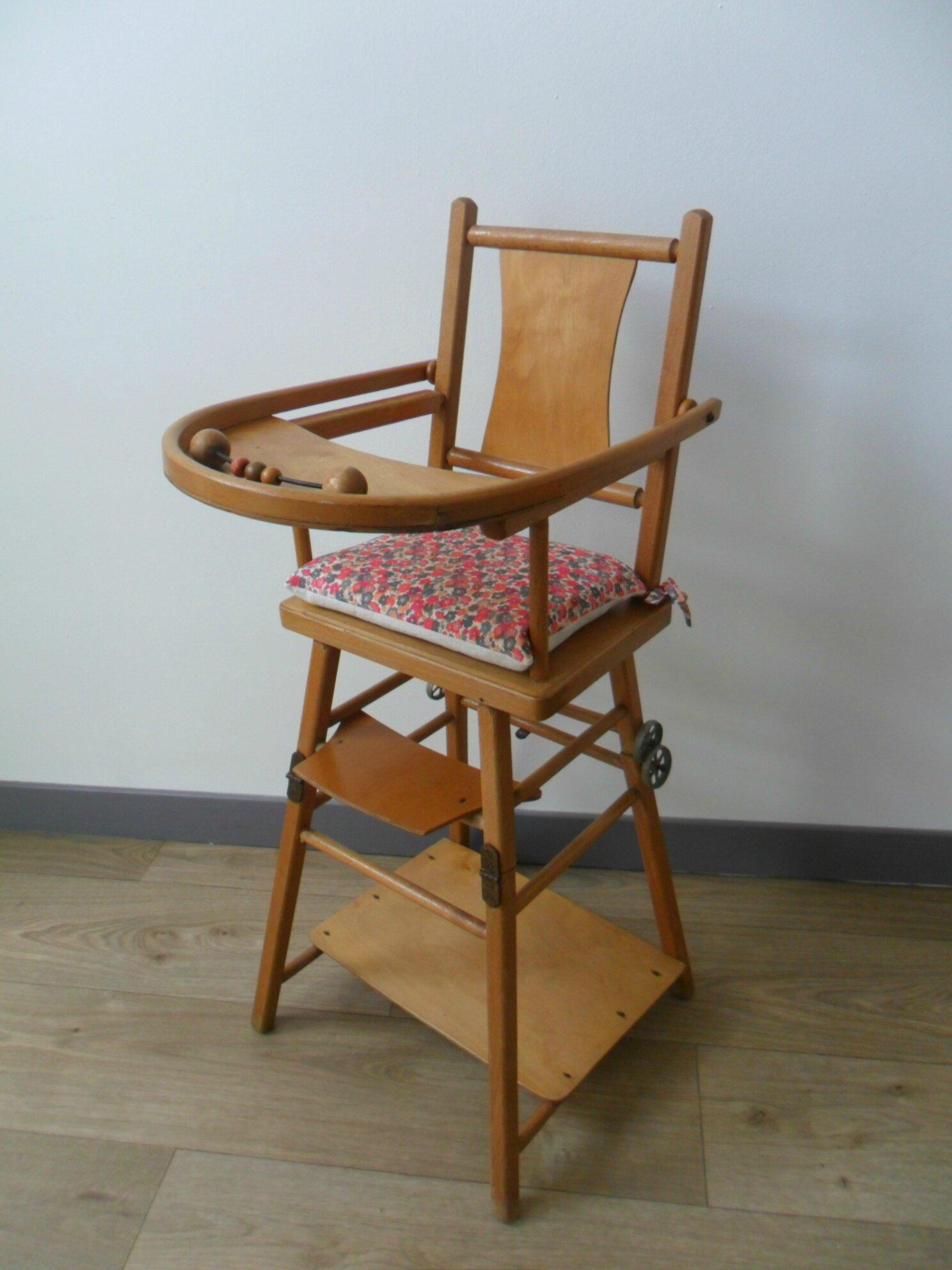 chaise haute ancienne en bois pour poupee https www etsy com