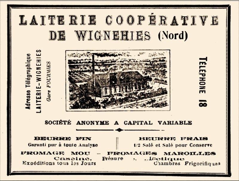 WIGNEHIES - LAITERIE