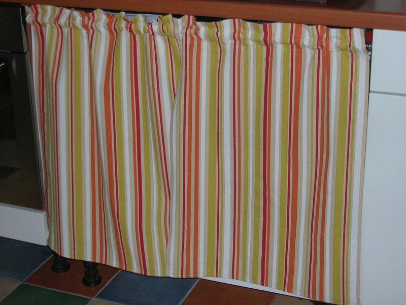 objecte marin films rideau pour placard de cuisine