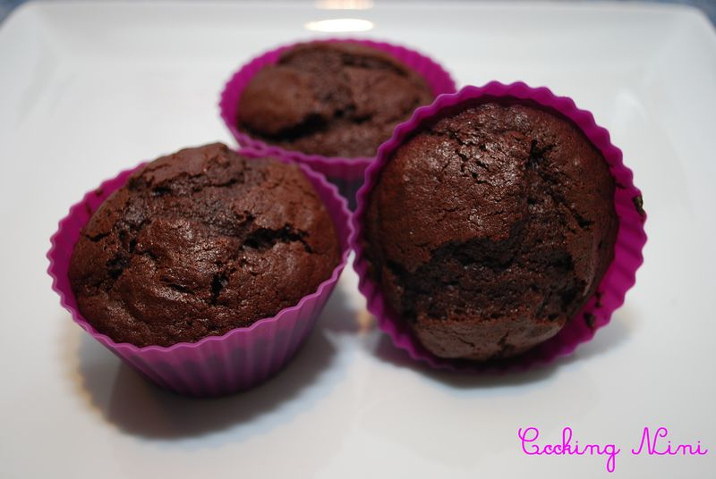 muffins au chocolat cooking nini