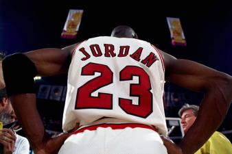 Michael Jordan, michael jordan, basketbol, forma, logo nba, HD masaüstü duvar kağıdı