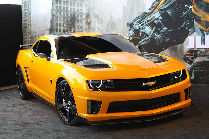 Its resolution is 1920px x 1080px, which can be used on your desktop, tablet or mobile devices. 2012 Bumblebee Camaro Transformers Hd Wallpaper Wallpaperbetter