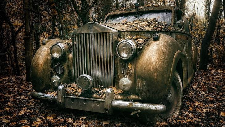 Remove wallpaper in five steps! Old Green Car Vintage Cars Classic Hd Wallpaper Wallpaperbetter