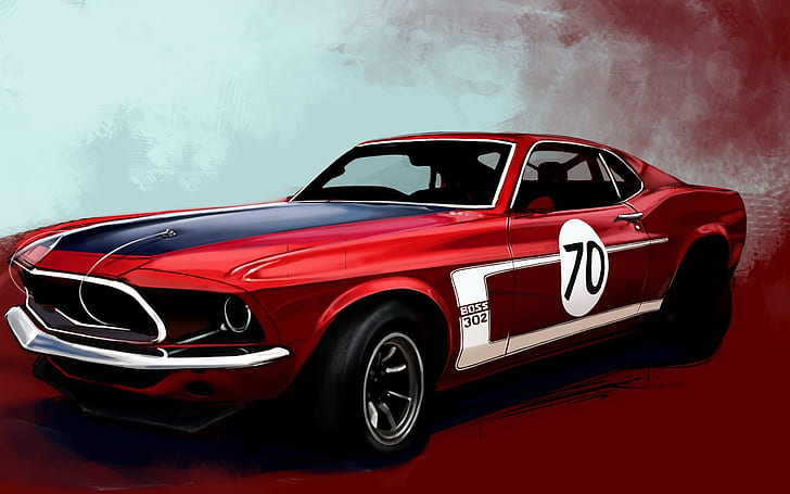Tap and hold on an empty area. Ford Mustang Boss 302 Drawing Sketch Hd Cars Drawing Ford Mustang Sketch Hd Wallpaper Wallpaperbetter