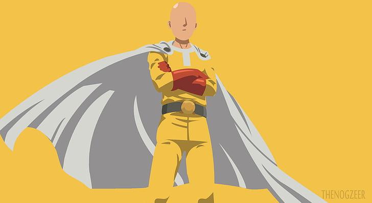 Anime One Punch Man One Punch Man Saitama One Punch Man Hd Wallpaper Wallpaperbetter