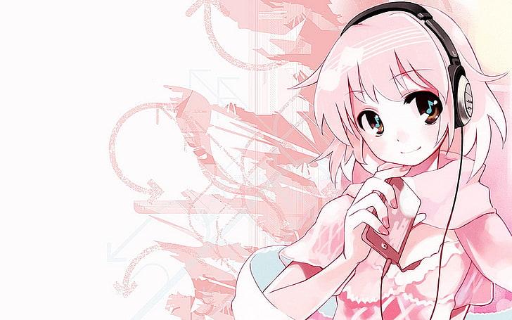 Foto keren untuk profil wa perempuan tomboy : Karakter Anime Wanita Menggunakan Headphone Anime Headphone Wallpaper Hd Wallpaperbetter