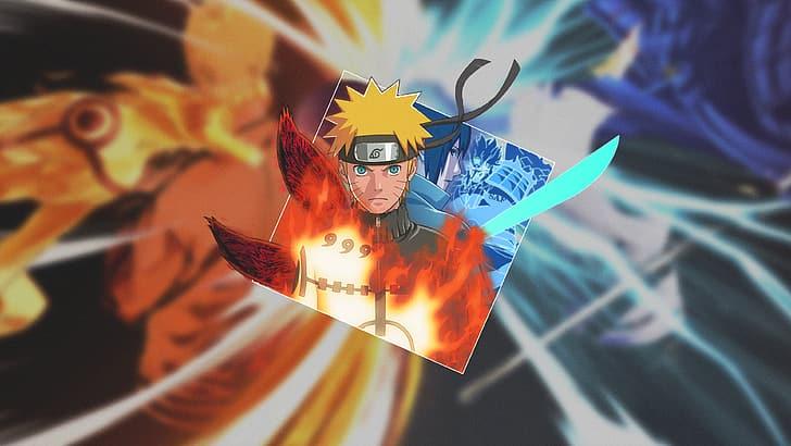 Naruto Anime Naruto Shippuuden Kurama Kyuubi Susanoo Karakter Uchiha Sasuke Wallpaper Hd Wallpaperbetter