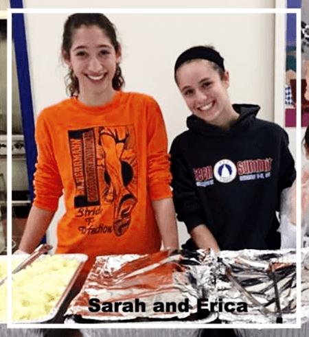 sarah-erica-volunteers