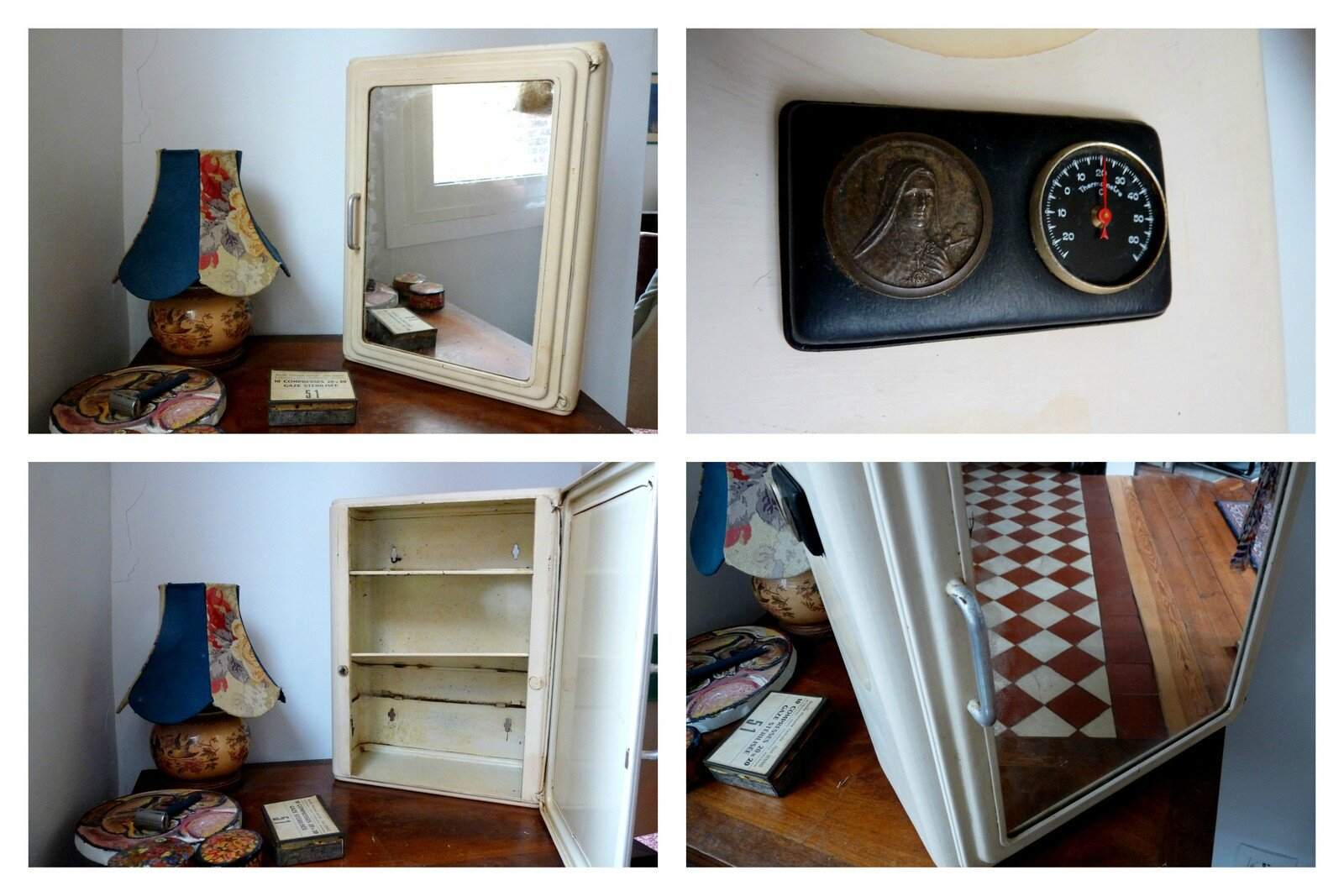 relooker une armoire a pharmacie