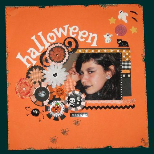 Océane Halloween 2007