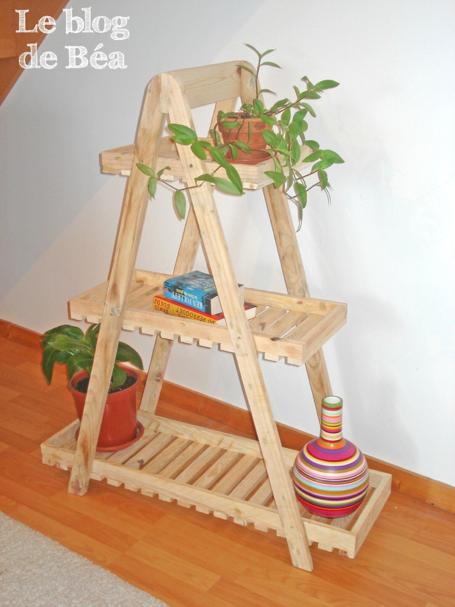 style escabeau en bois de palette