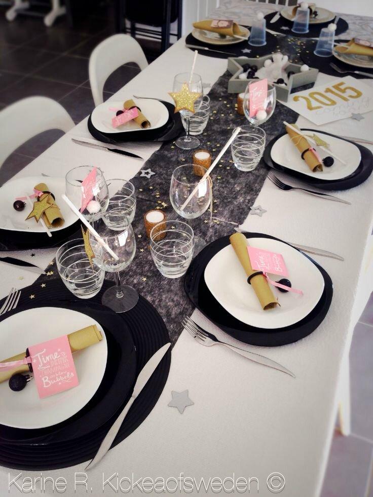Table De Reveillon Nouvel An Great Le Soir Du Nouvel An