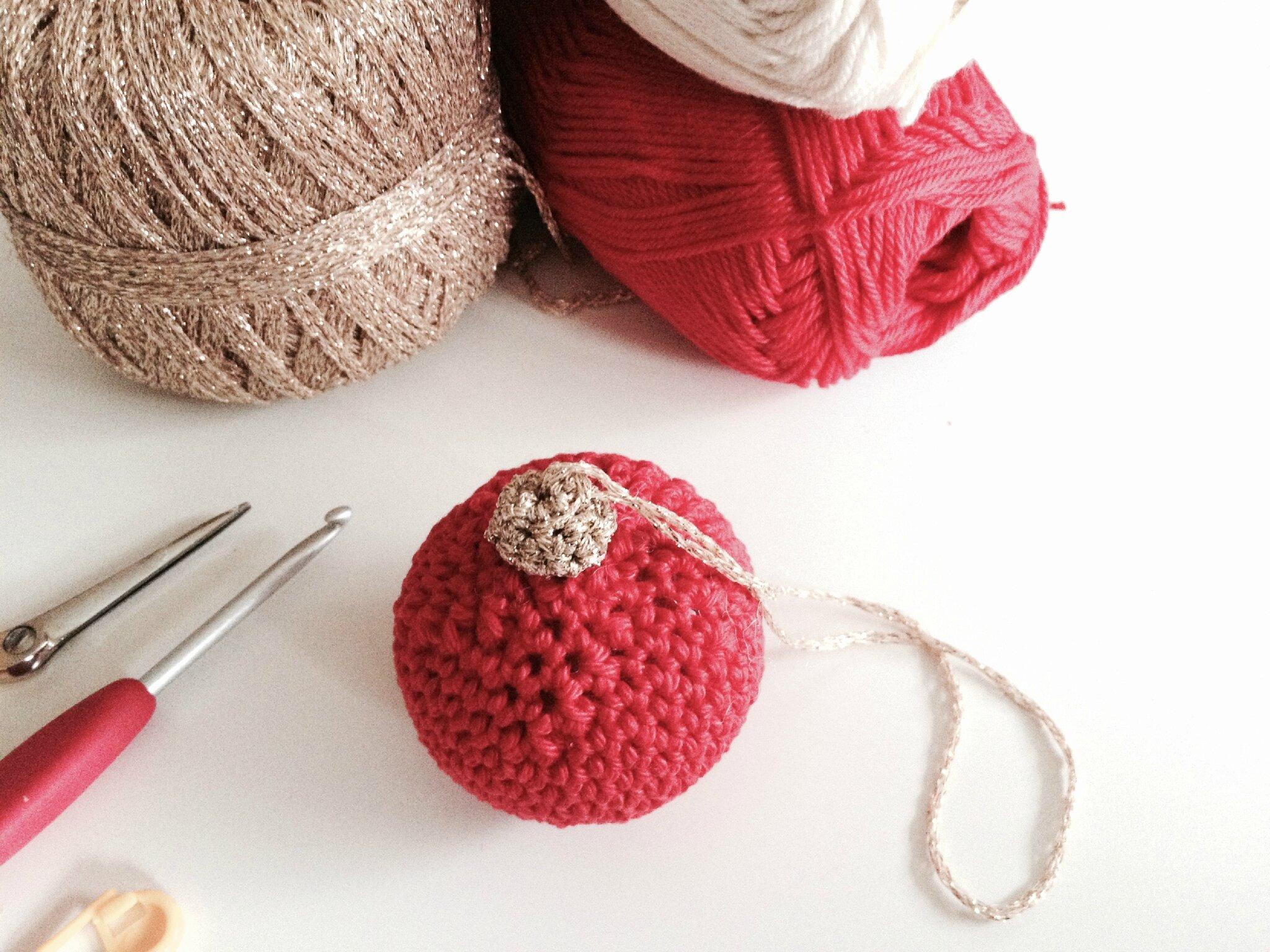 Boules De Noel Au Crochet Les Ateliers Kokoboheme