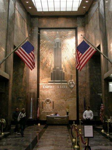 Hall De L Empire State Building Photo De New York Les