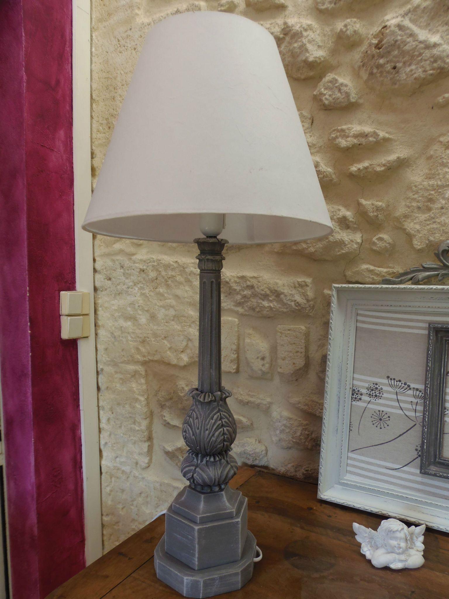 Lampe En Albtre Relooke Photo De Relooking DObjets
