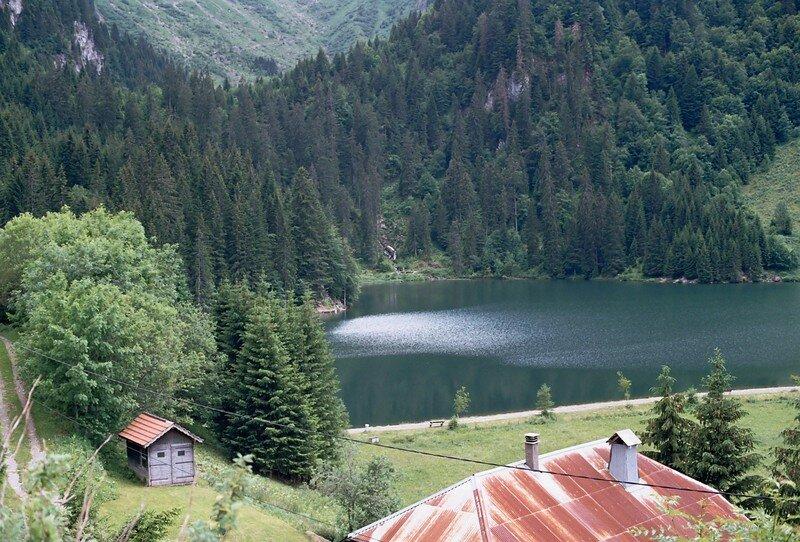 Lac des Plagnes à Abondance