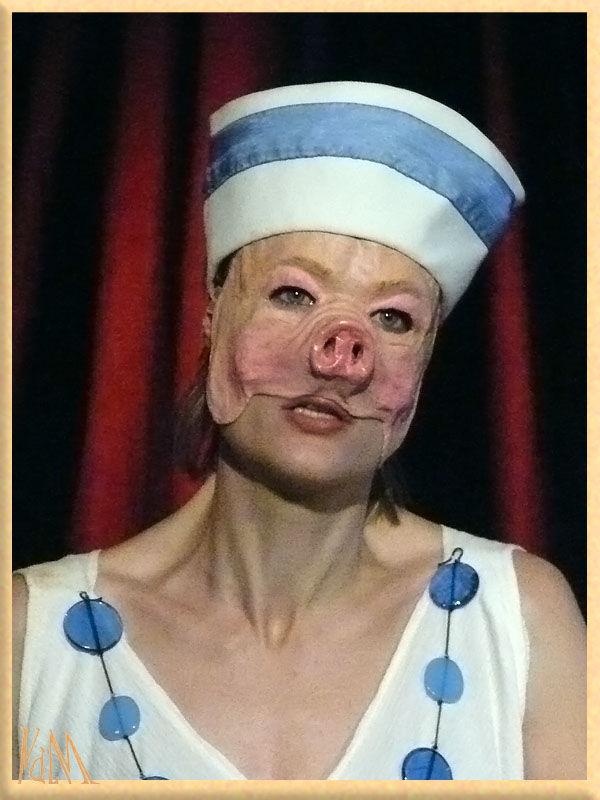 Masque De Cochon Circ Et Polyphme La Voix Du Masque