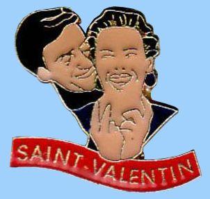 Pin's Saint Valentin 2