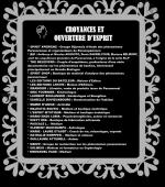 Coin Croyance et ouverture d'esprit - Salon Dijon 2017