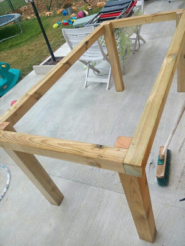DIY Table De Jardin Un Toit Pour La Vie