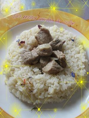 filet mignon de porc et sa sauce des iles vanillées