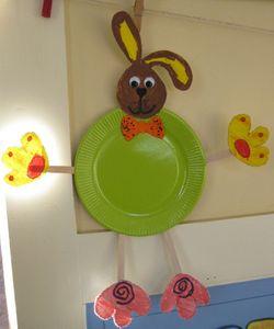 Dcoration De Pques En Passant Par La Maternelle