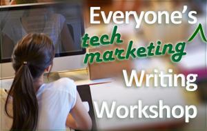 writing workshop technology marketing content coaching
