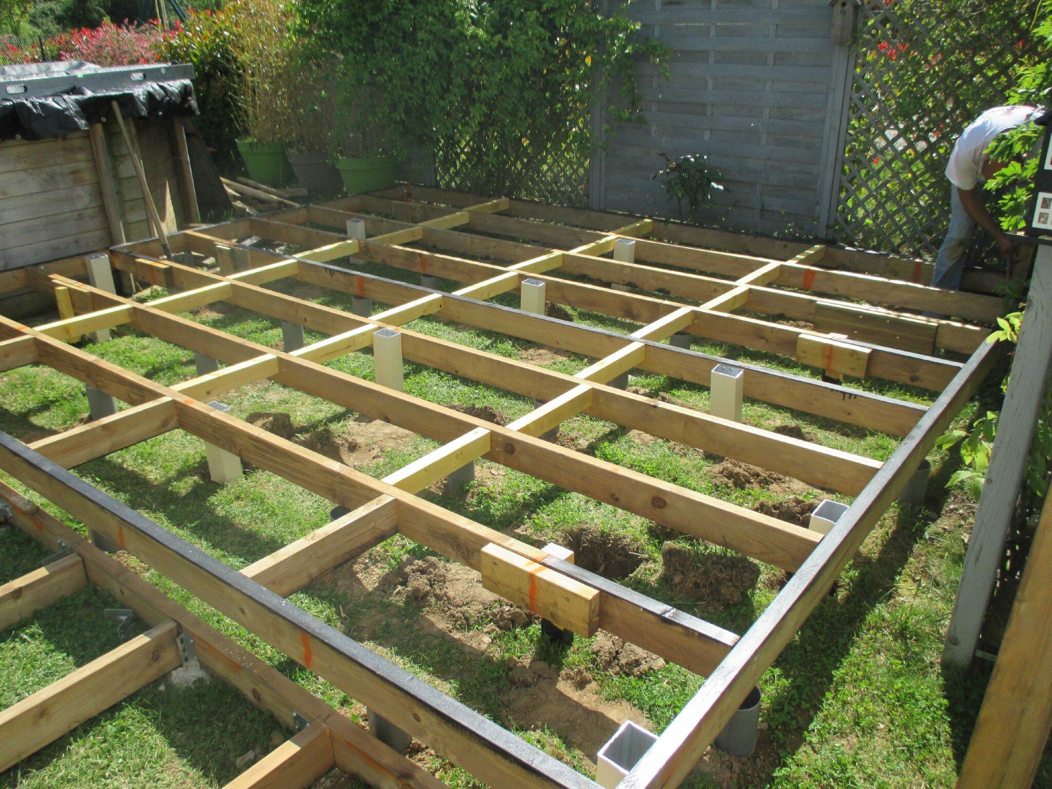 Projet De Travaux Maison Une Terrasse Bois Comme On En Revait Cathypety