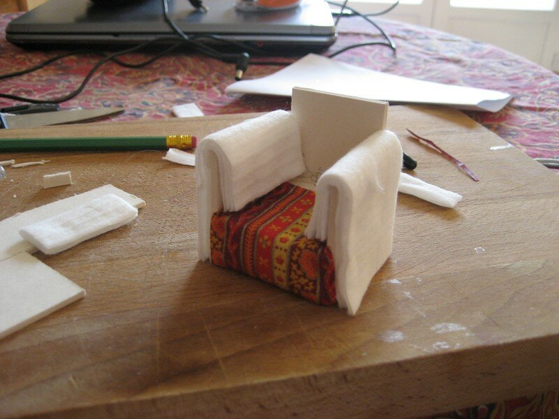 Construire Un Fauteuil Miniature La Maison De Bois